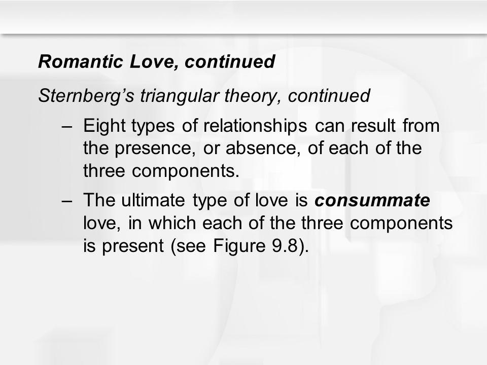 Romantic Love, continued