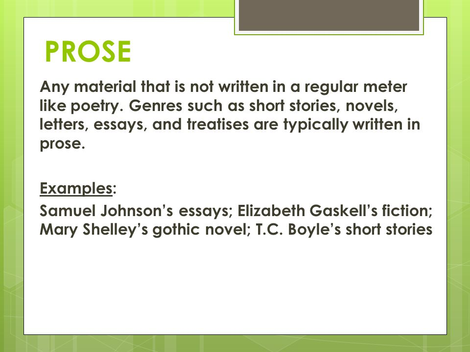 essay prose Parcc prose constructed response (pcr) there are three kinds of pcrs on parcc: essay narrative task broadens the way in which students may use this type of.