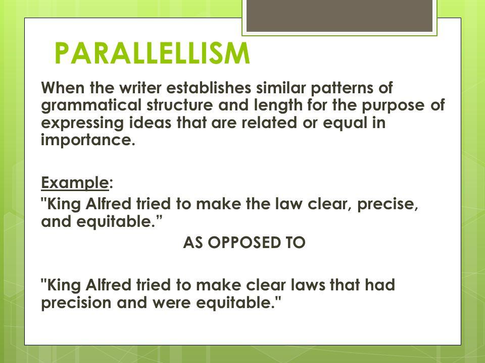 PARALLELLISM