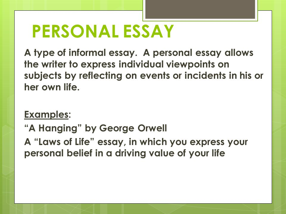 My personal values and beliefs essays