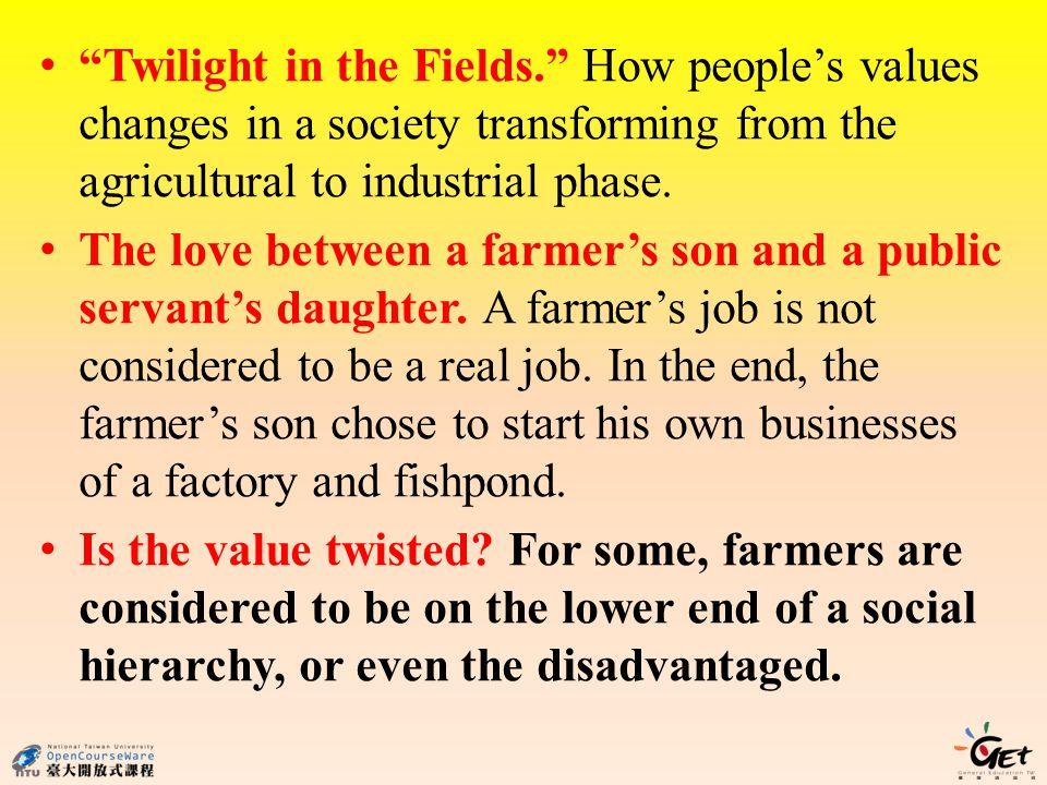 Twilight in the Fields