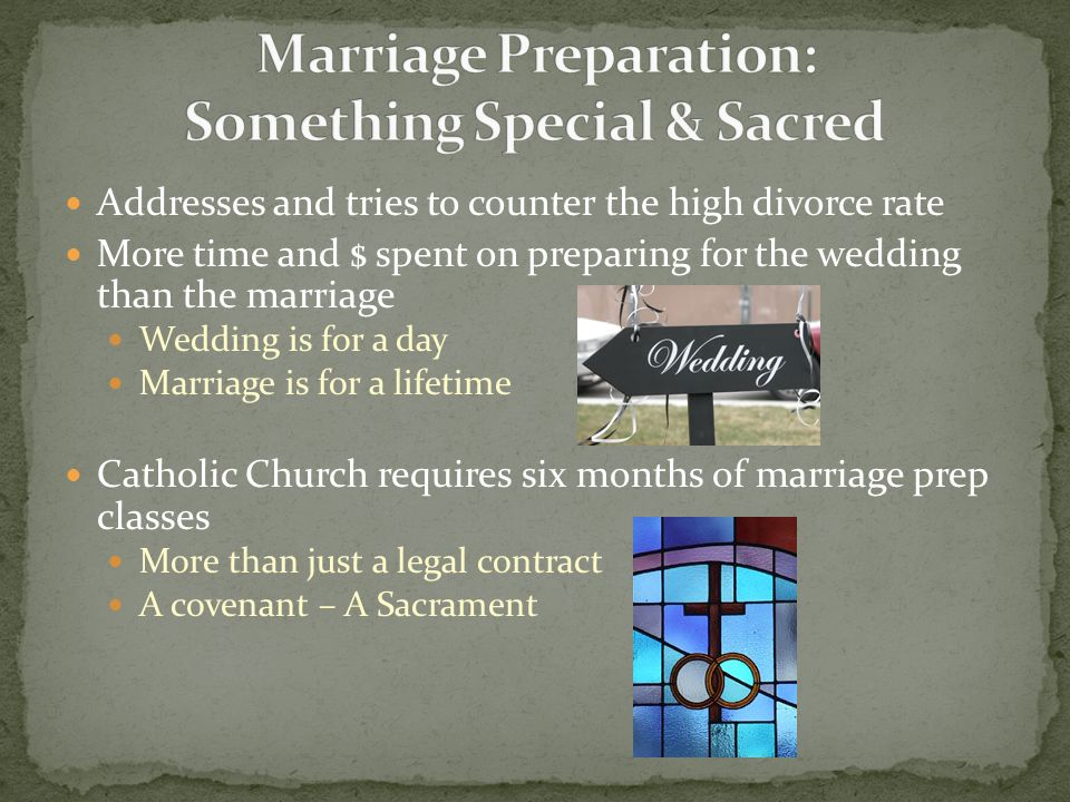 Marriage Preparation: Something Special & Sacred