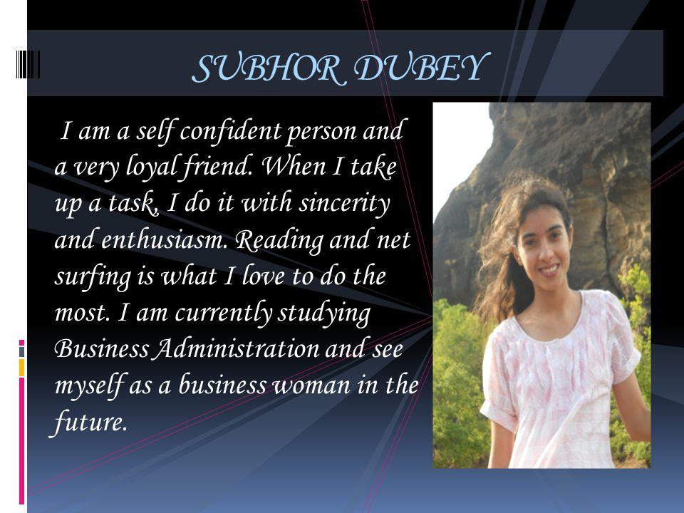 SUBHOR DUBEY