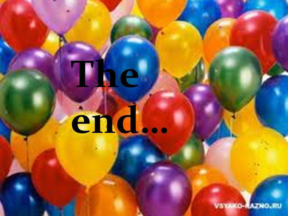 The end… the end