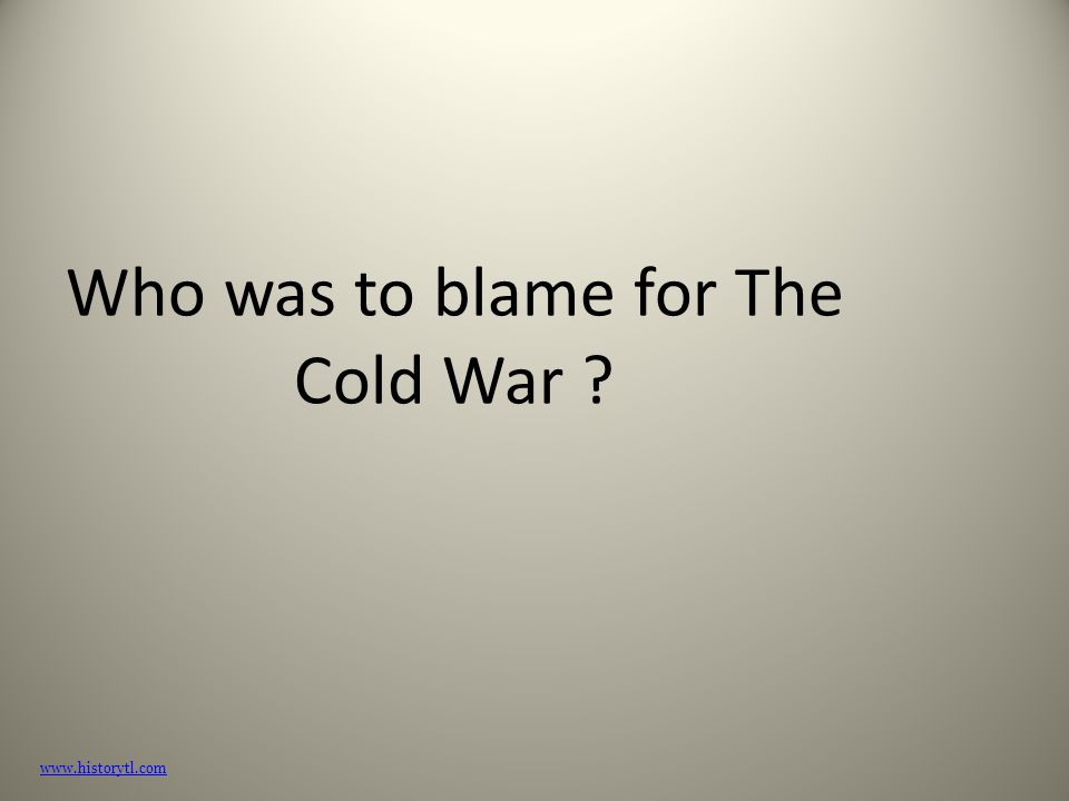 canada cold war essay When looking at the cold war in general or in relation to asia, it is important to understand that a conflict lasting a long period may go through changes, especially in cases of cold war.