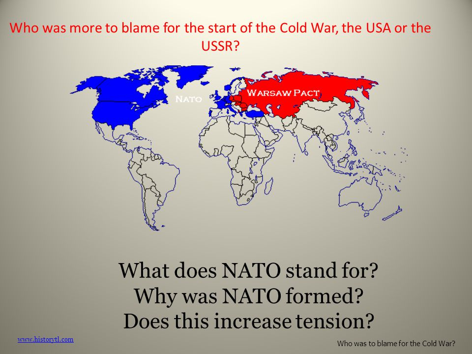 What does NATO stand for Why was NATO formed