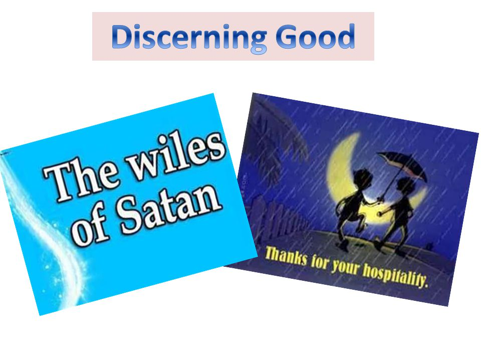 Discerning Good
