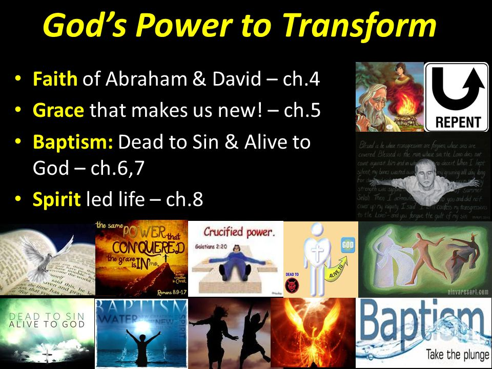 God's Power to Transform