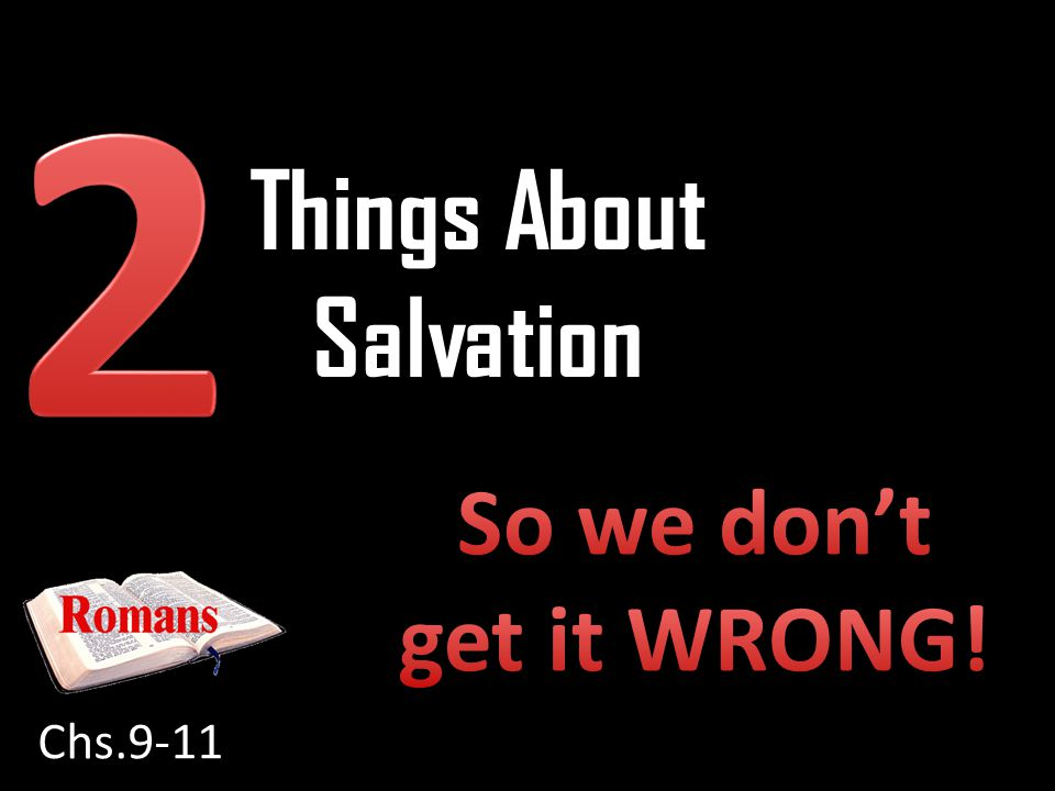 Things About Salvation