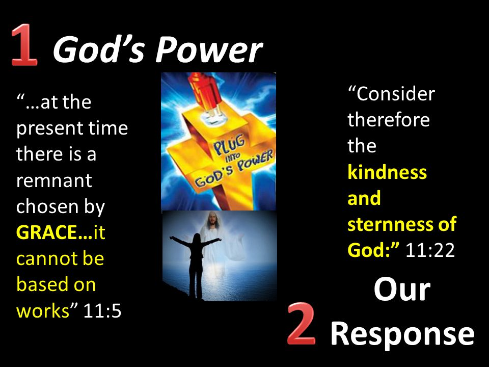 1 2 God's Power Our Response