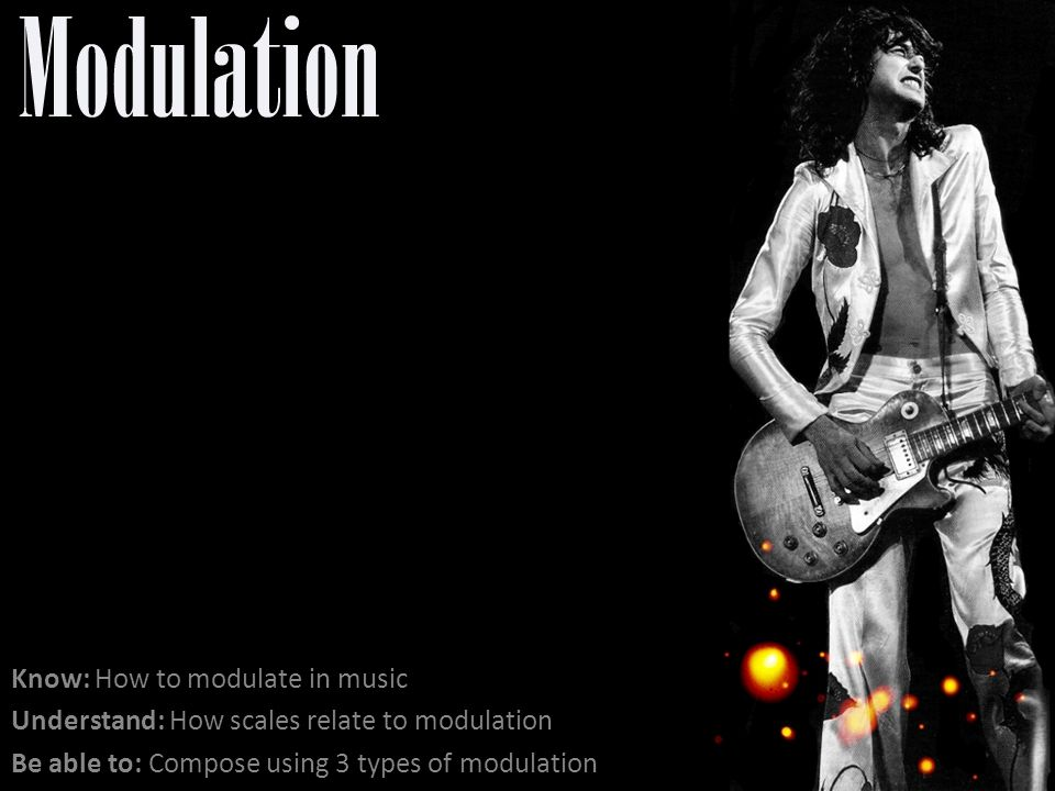 Modulation Know: How to modulate in music