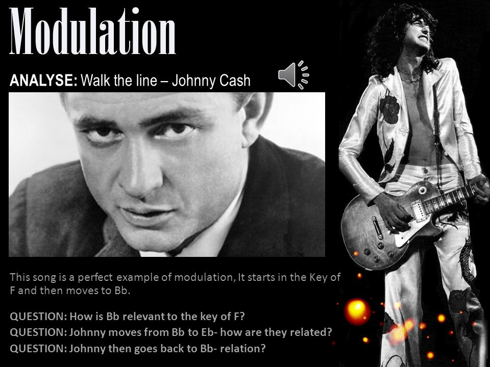 ANALYSE: Walk the line – Johnny Cash