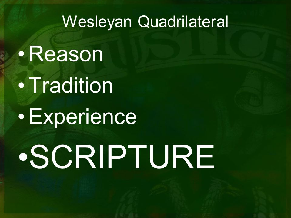 Wesleyan Quadrilateral