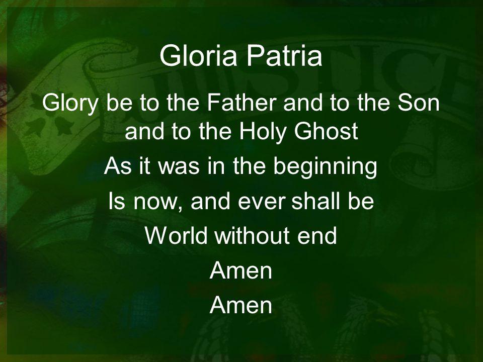 Gloria Patria