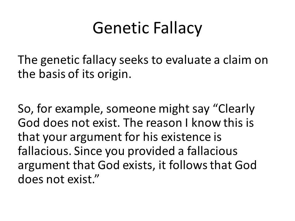 fallacies final