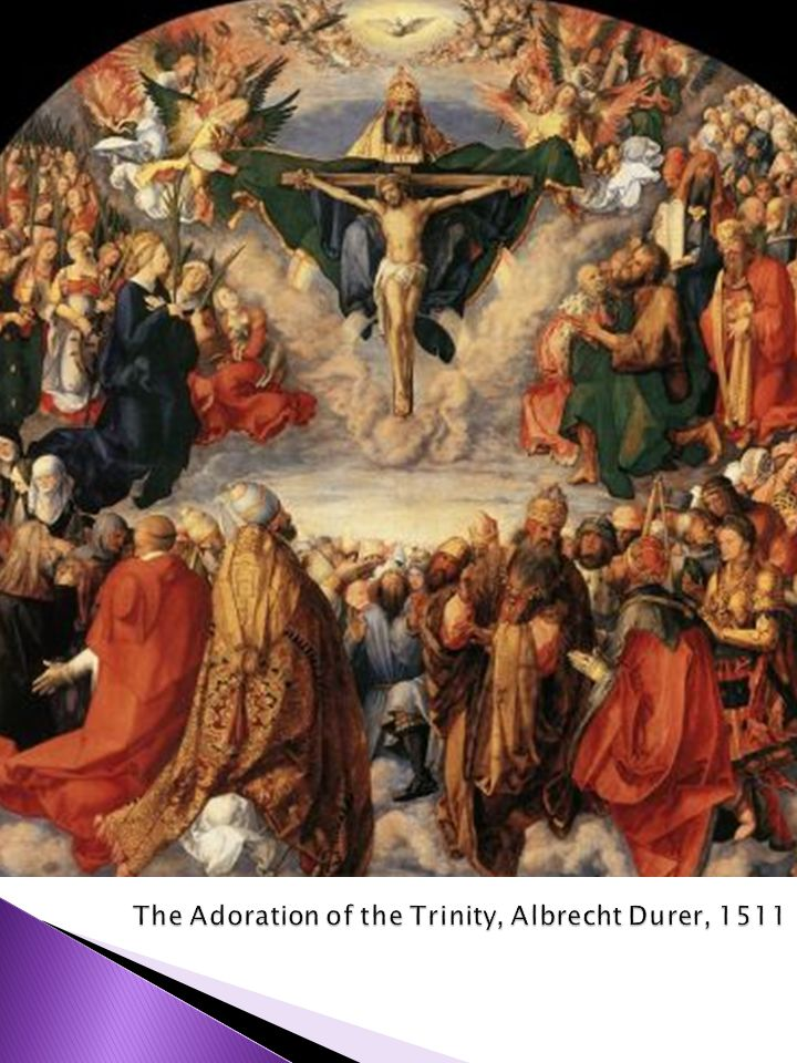 The Adoration of the Trinity, Albrecht Durer, 1511