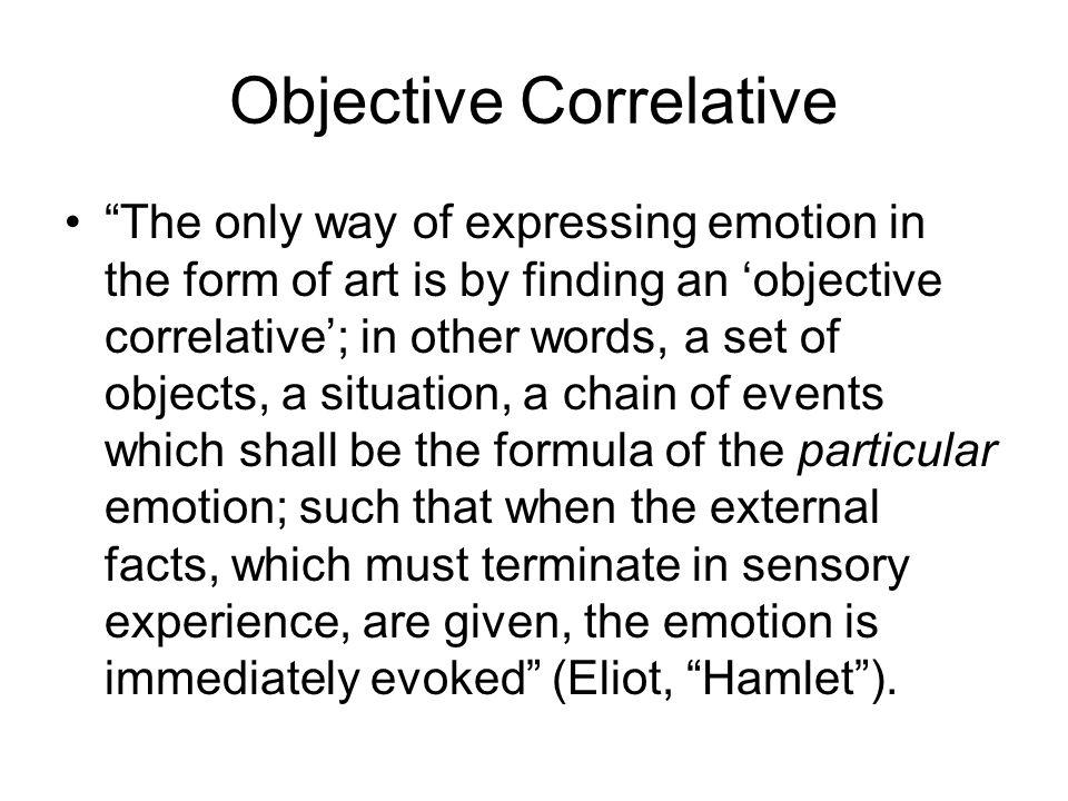 Objective Correlative