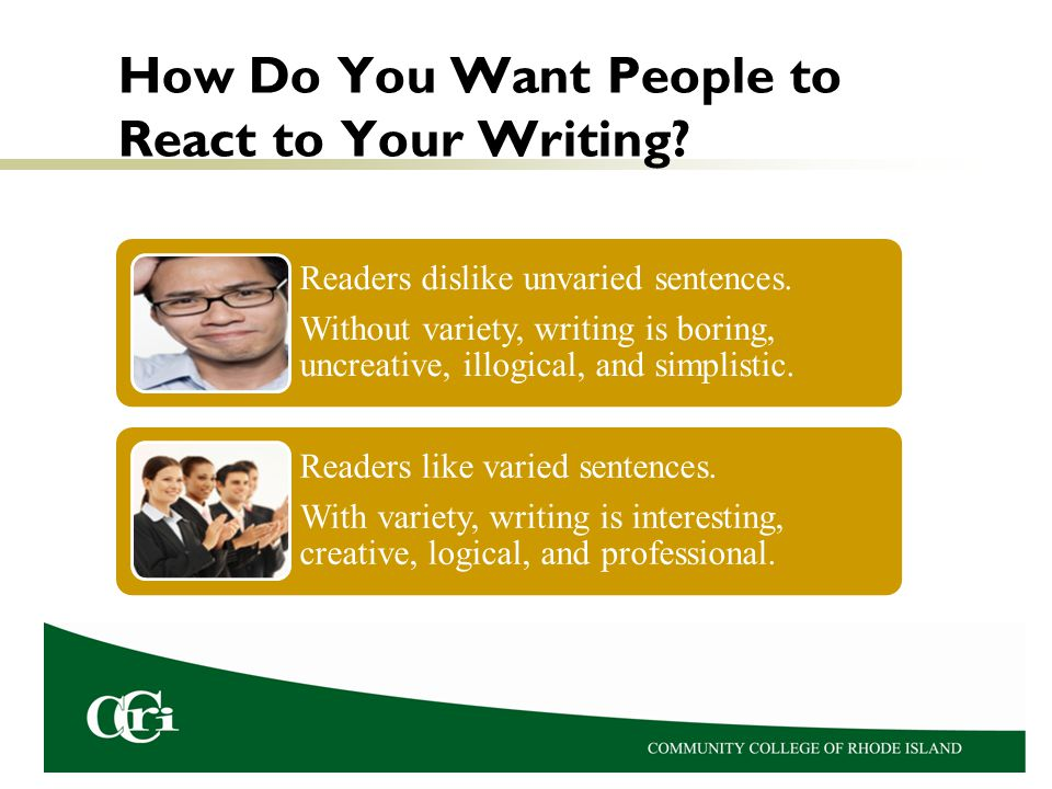 How Do You Want People to React to Your Writing