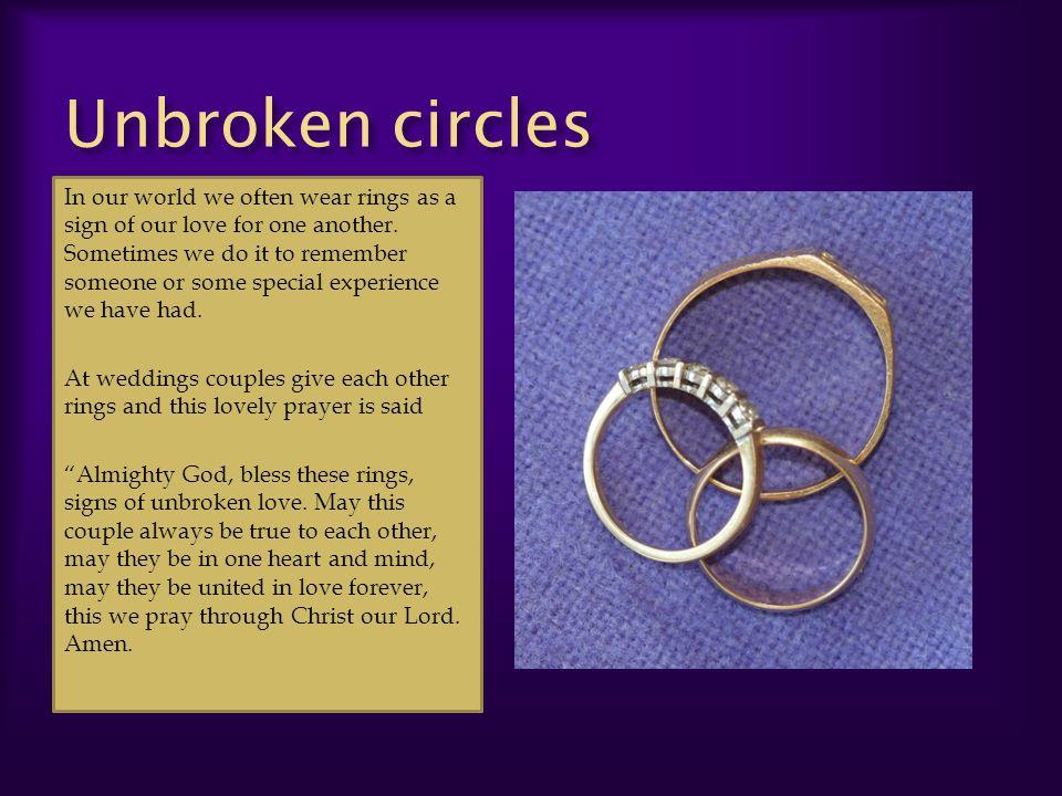 Unbroken circles