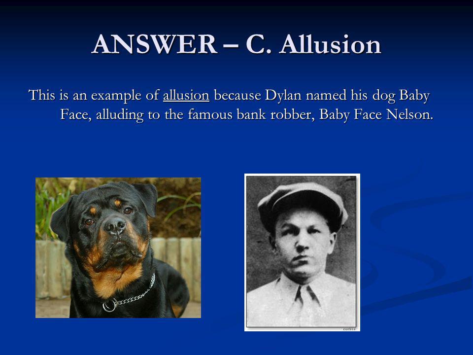 ANSWER – C.