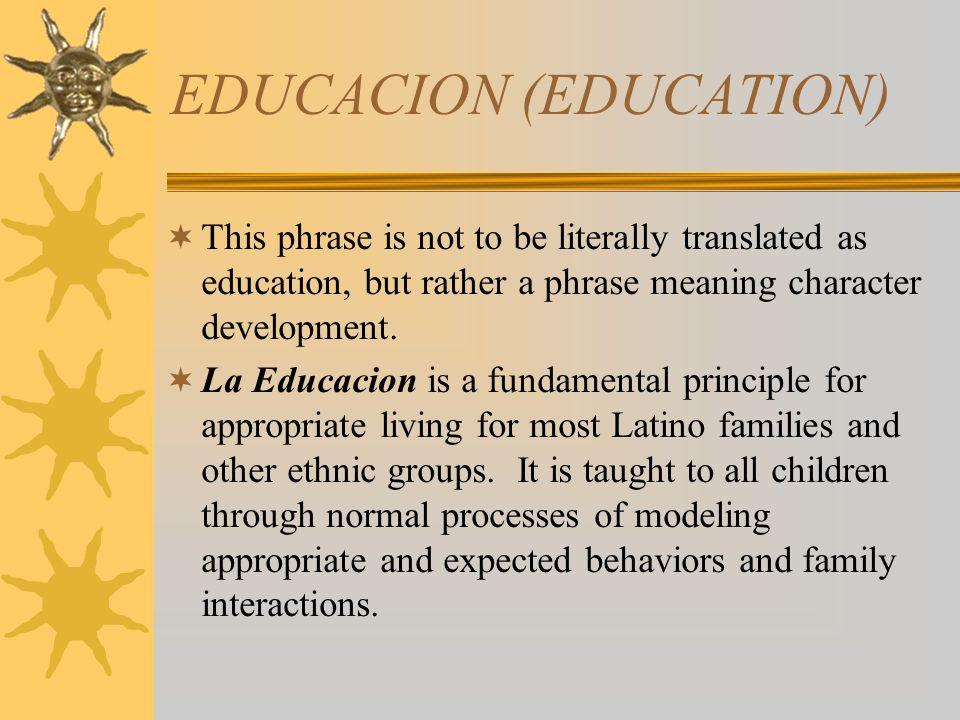 EDUCACION (EDUCATION)