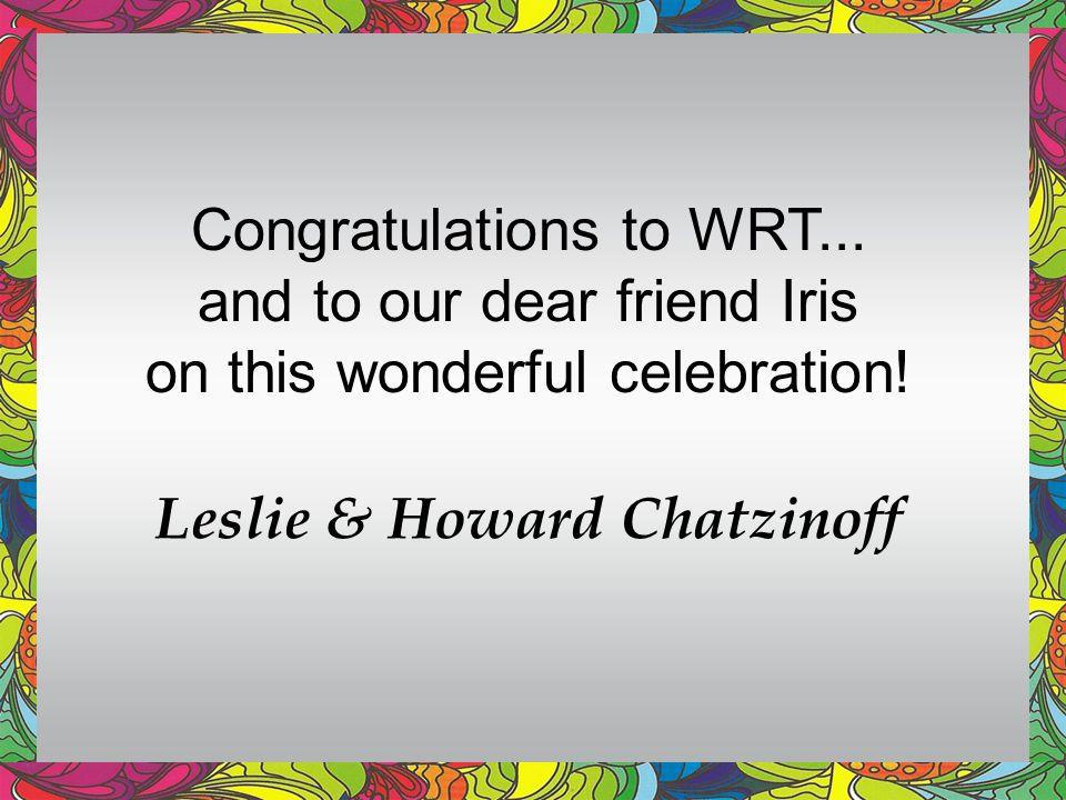 Leslie & Howard Chatzinoff