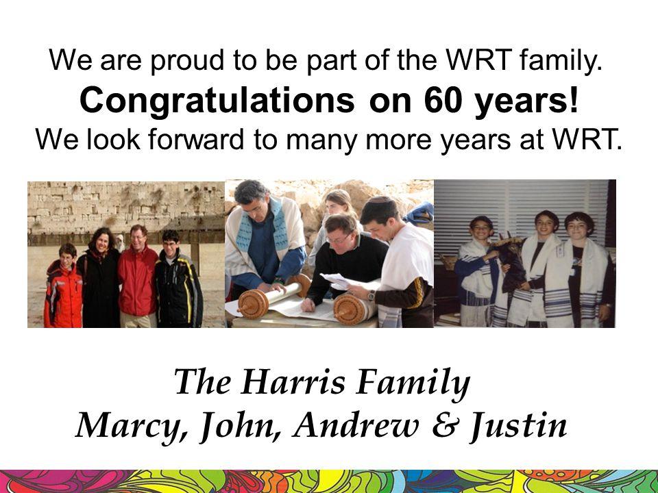 The Harris Family Marcy, John, Andrew & Justin