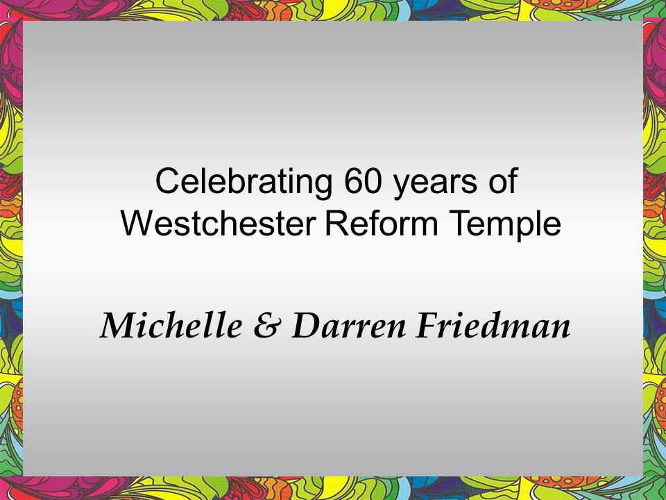 Michelle & Darren Friedman