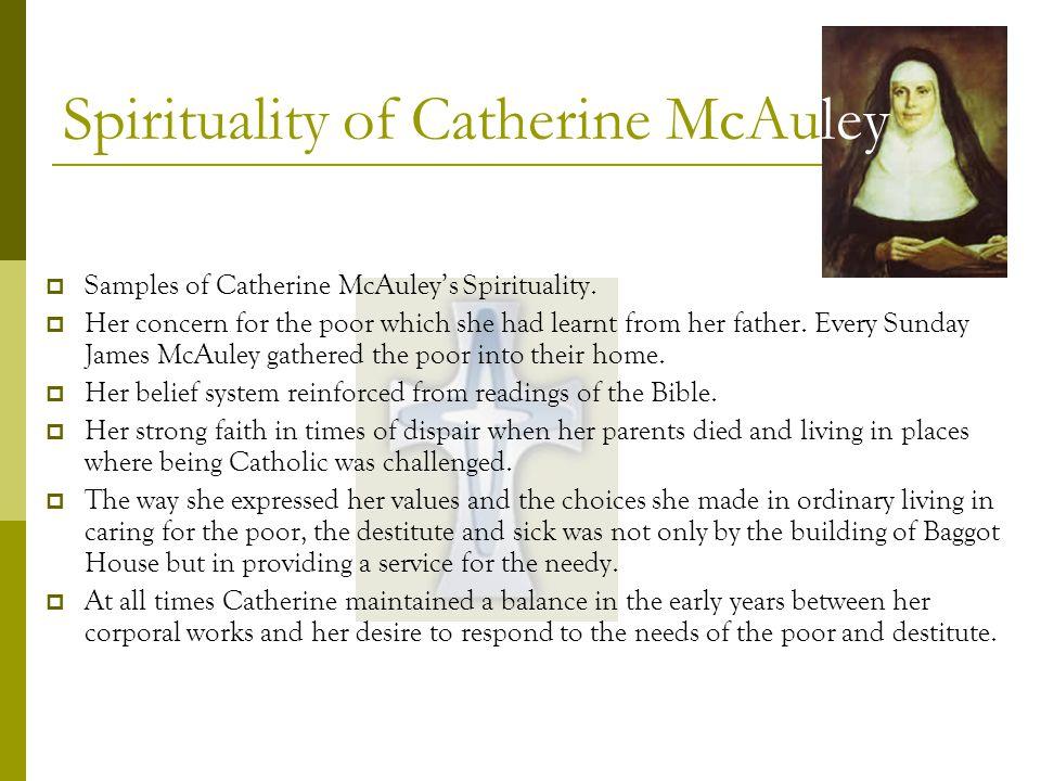 Spirituality of Catherine McAuley