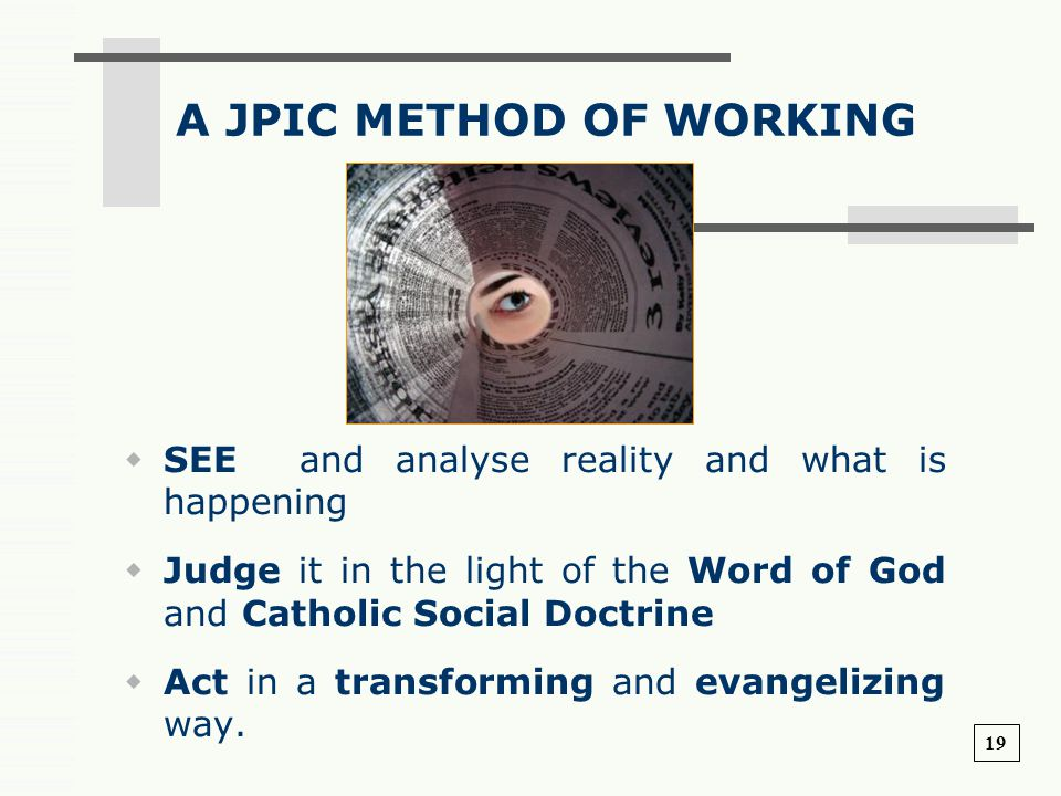 A JPIC METHOD OF WORKING