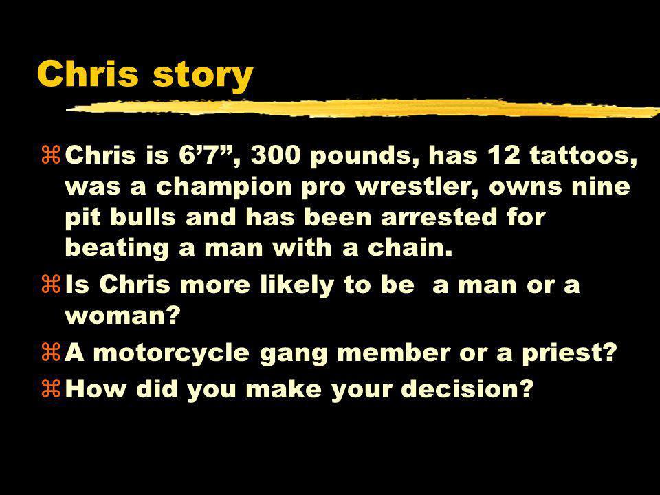 Chris story