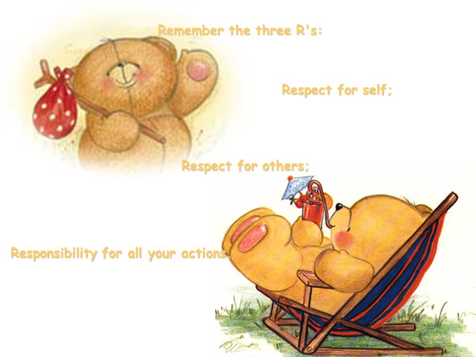 Responsibility for all your actions.