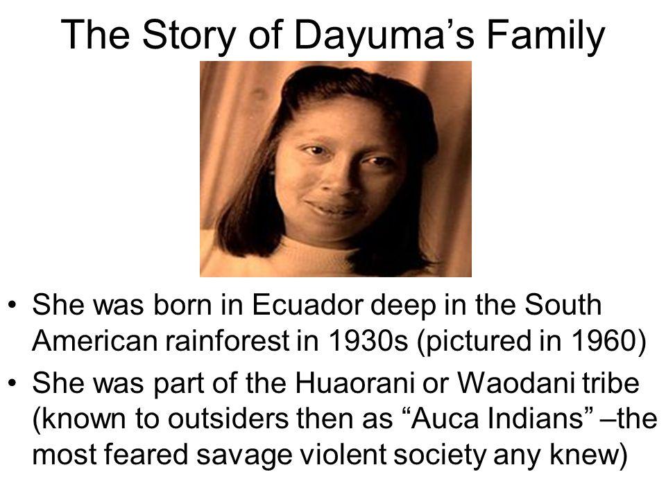 The Story of Dayuma's Family