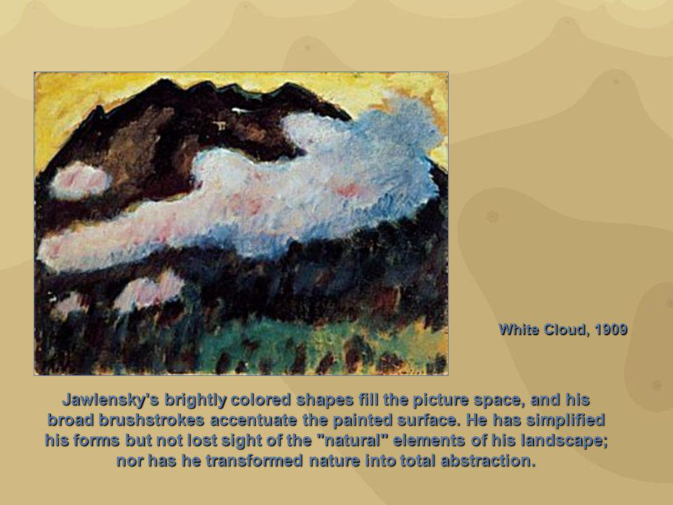 White Cloud, 1909