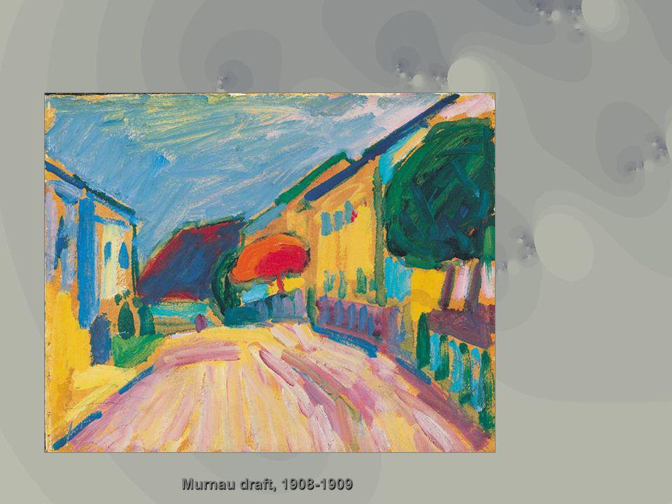 Murnau draft, 1908-1909