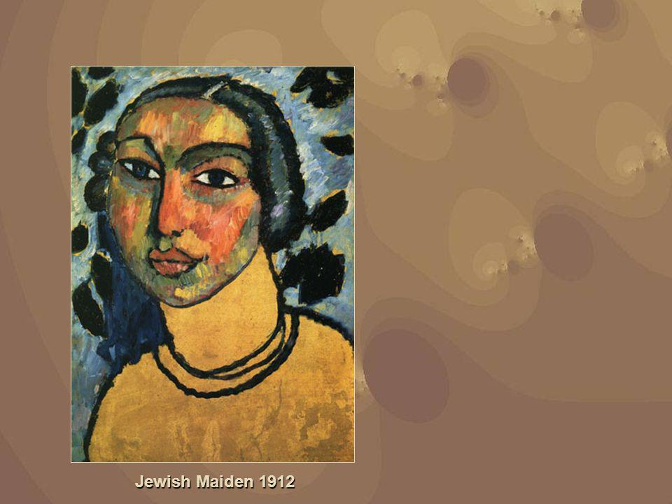 Jewish Maiden 1912