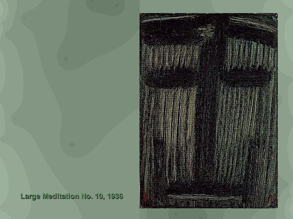 Large Meditation No. 10, 1936