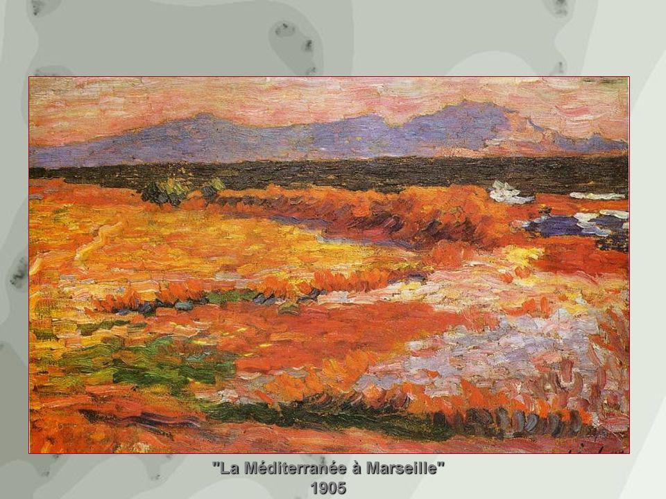La Méditerranée à Marseille 1905