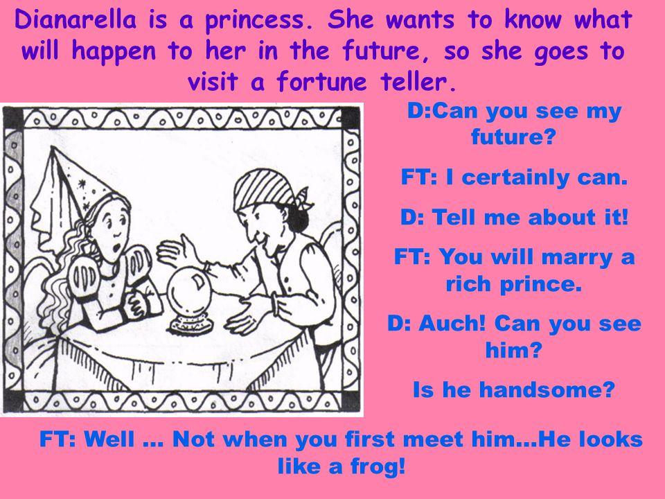 Dianarella is a princess