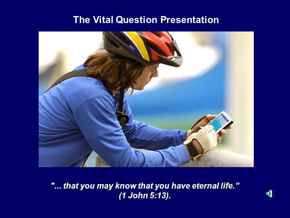 The Vital Question Presentation
