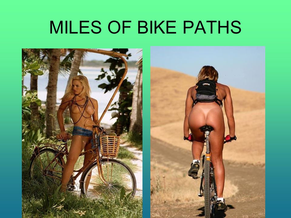 MILES OF BIKE PATHS