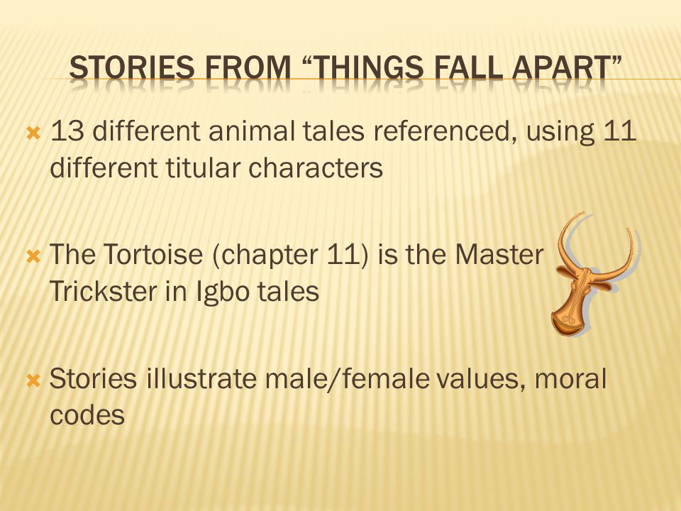 Stories From Things Fall Apart