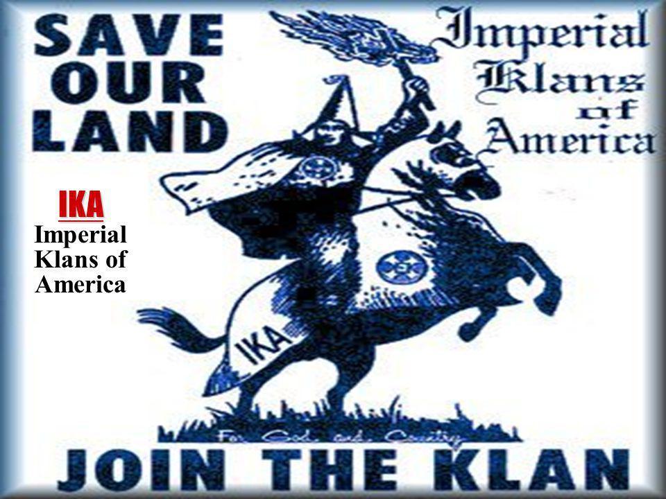 IKA Imperial Klans of America