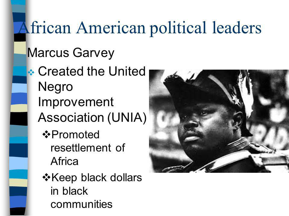 African American political leaders