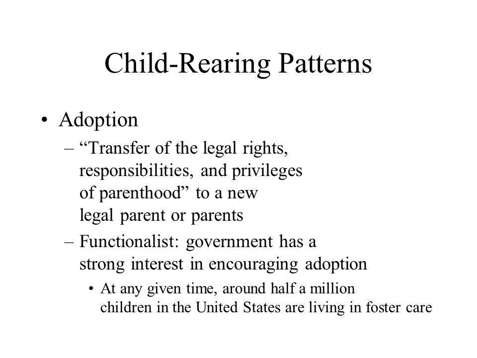Child-Rearing Patterns