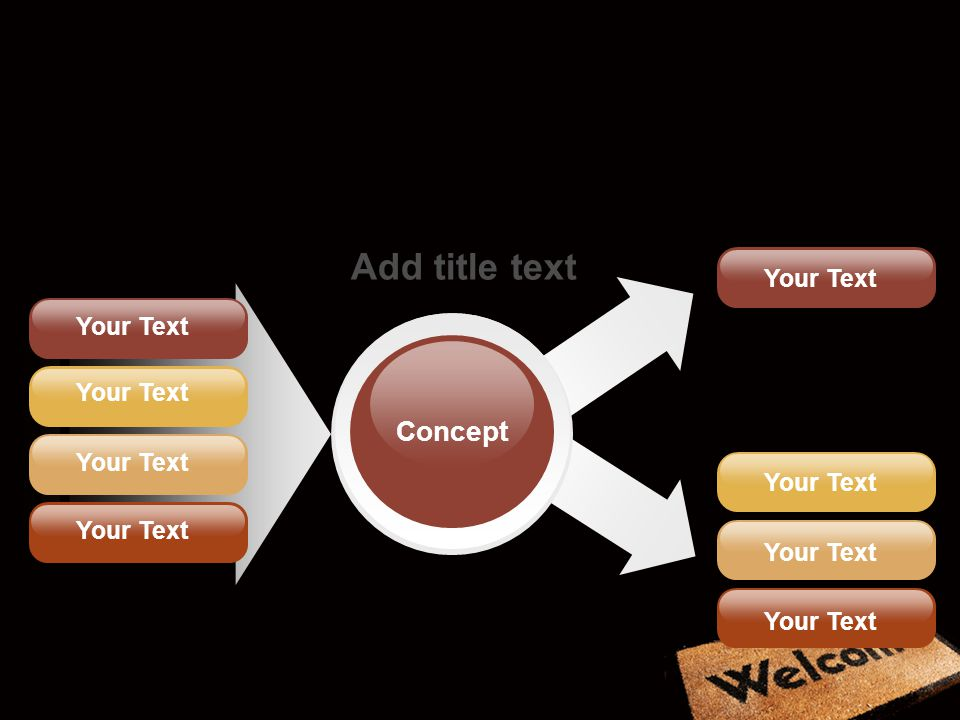 Concept Add title text Your Text Your Text Your Text Your Text