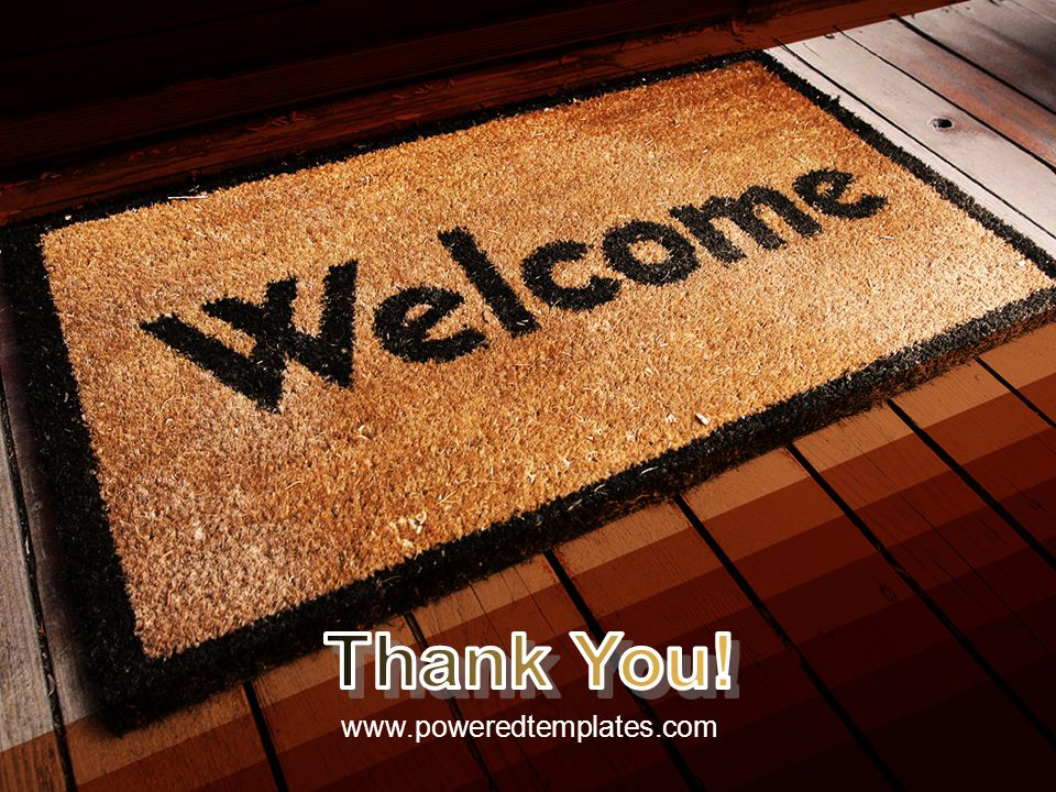 Thank You! www.poweredtemplates.com