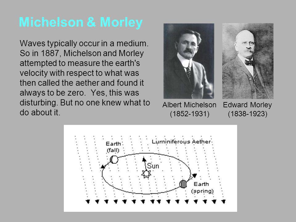 Michelson & Morley