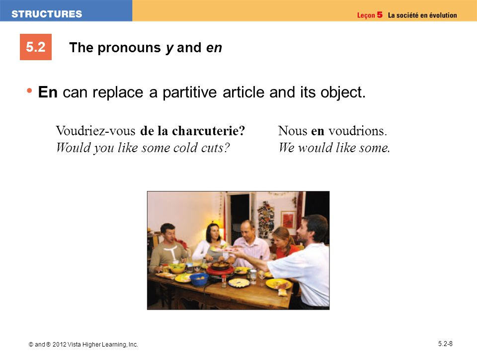 En can replace a partitive article and its object.