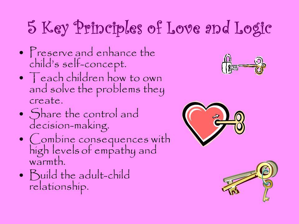 5 Key Principles of Love and Logic